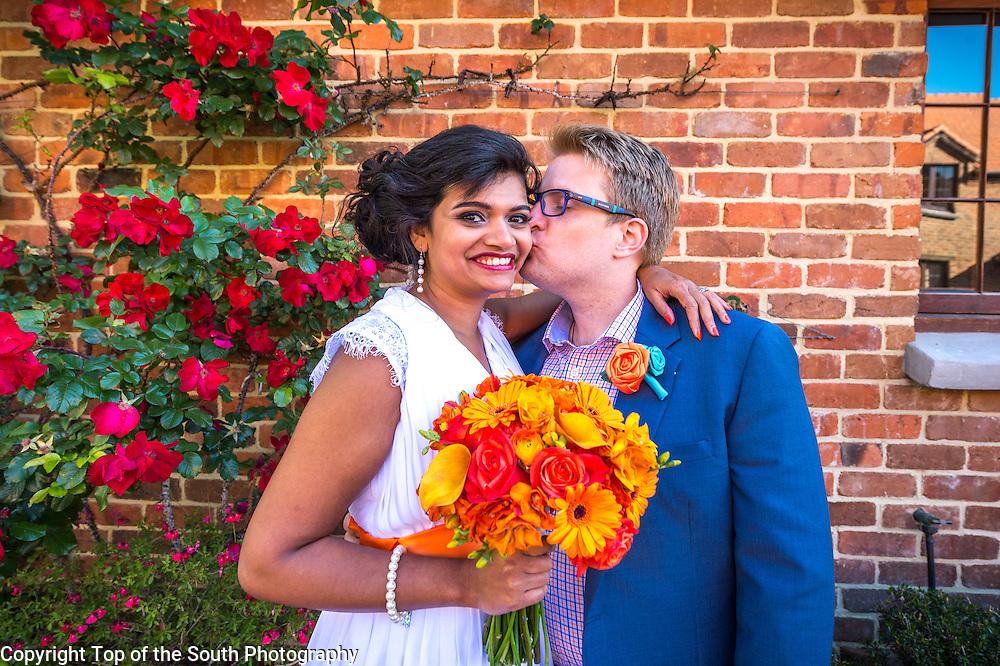 Wedding - Priyanka Bhonsule and John Hudson at Monaco, Nelson, New Zealand on 31-10-2015.