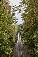 Railroad track over the Caney Fork River, Tennessee
