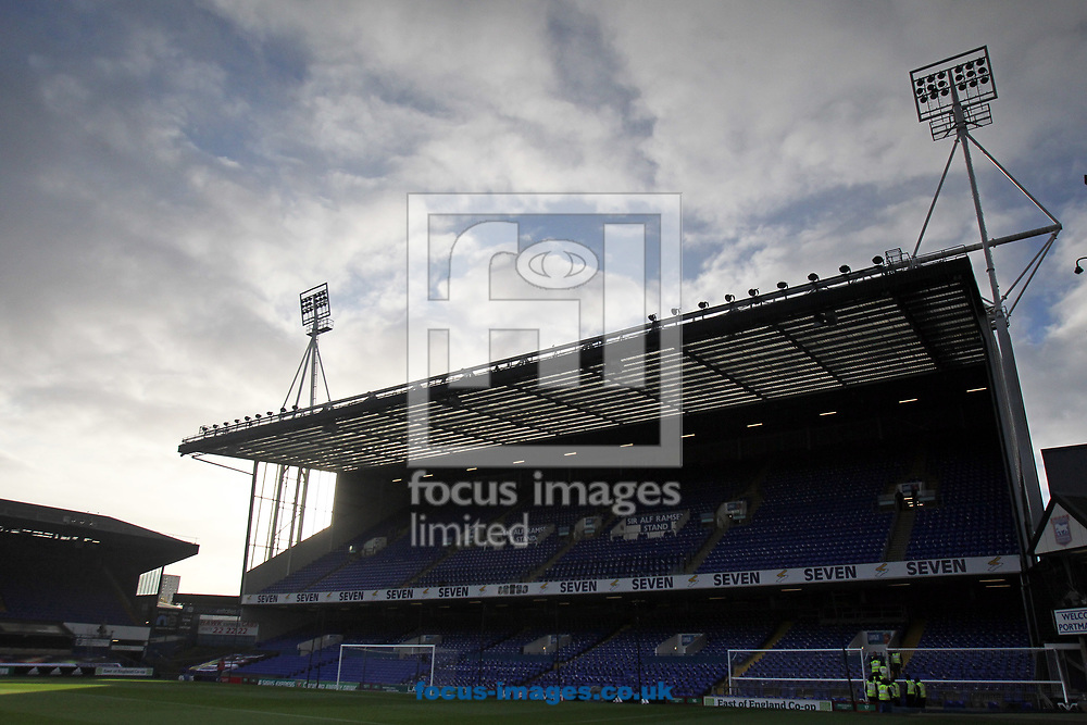General view of the stadium before the Sky Bet Championship match at Portman Road, Ipswich<br /> Picture by Paul Chesterton/Focus Images Ltd +44 7904 640267<br /> 22/10/2017