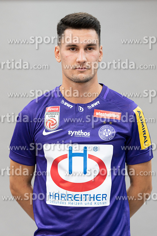 16.07.2019, Generali Arena, Wien, AUT, 1. FBL, FK Austria Wien, Fototermin, im Bild Alexandar Borkovic // Alexandar Borkovic during the official team and portrait photoshooting of tipico Bundesliga Club FK Austria Wien for the upcoming Season at the Generali Arena in Vienna, Austria on 2019/07/16. EXPA Pictures © 2019, PhotoCredit: EXPA/ Florian Schroetter