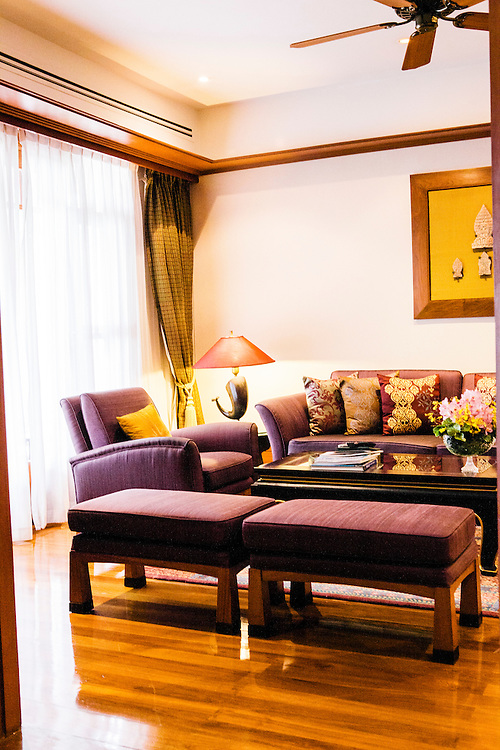 Suite with sea view at Chiva Som