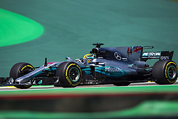 November 10, 2017 - Sao Paulo, Sao Paulo, Brazil - Nov, 2017 - Sao Paulo, Sao Paulo, Brazil - LEWIS HAMILTON/Mercedes AMG. Free practice this Friday (10), for the Brazilian Grand Prix of Formula One that takes place next Sunday at the Autodromo de Interlagos in São Paulo. (Credit Image: © Marcelo Chello via ZUMA Wire)