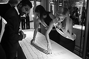 DOING THE PLACE CARDS, The Art of Wishes Gala. Dorchester, Park Lane,  London. 2 October 2017