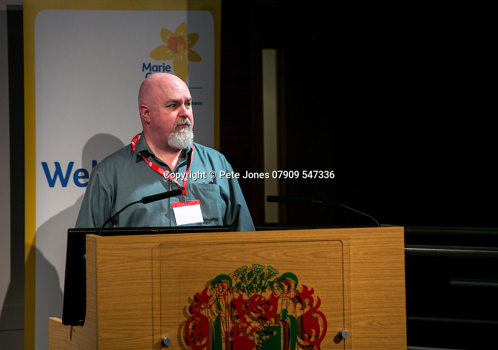 Marie Curie Palliative Care;<br /> Dr Bruce Mason;<br /> Round the Clock Conference 2016;<br /> Royal Soc of Medicine, Wimpole St, London;<br /> 19th October 2016.<br /> <br /> &copy; Pete Jones<br /> pete@pjproductions.co.uk