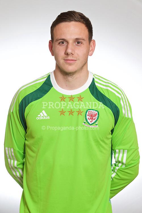 CARDIFF, WALES - Thursday, November 13, 2014: Wales' goalkeeper Daniel Ward. (Pic by David Rawcliffe/Propaganda)