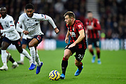 Ryan Fraser (24) of AFC Bournemouth on the attack during the Premier League match between Bournemouth and Liverpool at the Vitality Stadium, Bournemouth, England on 7 December 2019.