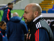 Outgoing Brentford Head Coach Lee Carsley prior to the Sky Bet Championship match between Bolton Wanderers and Brentford at the Macron Stadium, Bolton<br /> Picture by Mark D Fuller/Focus Images Ltd +44 7774 216216<br /> 30/11/2015
