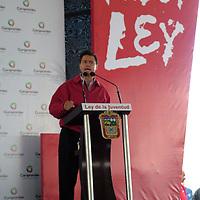Tecámac, Méx.- Enrique Peña Nieto, gobernador del estado, clausuró los foros de consulta popular para la integración de la iniciativa de ley de la juventud del estado de México. Agencia MVT / José Israel Núñez. (DIGITAL)<br /> <br /> <br /> <br /> NO ARCHIVAR - NO ARCHIVE