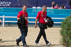 De Brabander Joris (BEL), Panis Jurgen (BEL)<br /> Olympic Games London 2012<br /> © Dirk Caremans