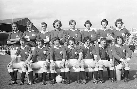 All Ireland Senior Football Final at Croke Park between Cork and Galway and Sunday 23rd September 1973...Results Cork 3-17.Galway 2-13 ..23.09.1973  23rd September 1973