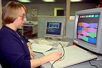 Computer lay planner, SR. Gent. Barnsley 26/2/91.