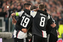 November 26, 2019, Turin, Italy: happiness juveduring Tournament round - Juventus FC vs Atletico Madrid, Soccer Champions League Men Championship in Turin, Italy, November 26 2019 - LPS/Claudio Benedetto (Credit Image: © Claudio Benedetto/LPS via ZUMA Wire)