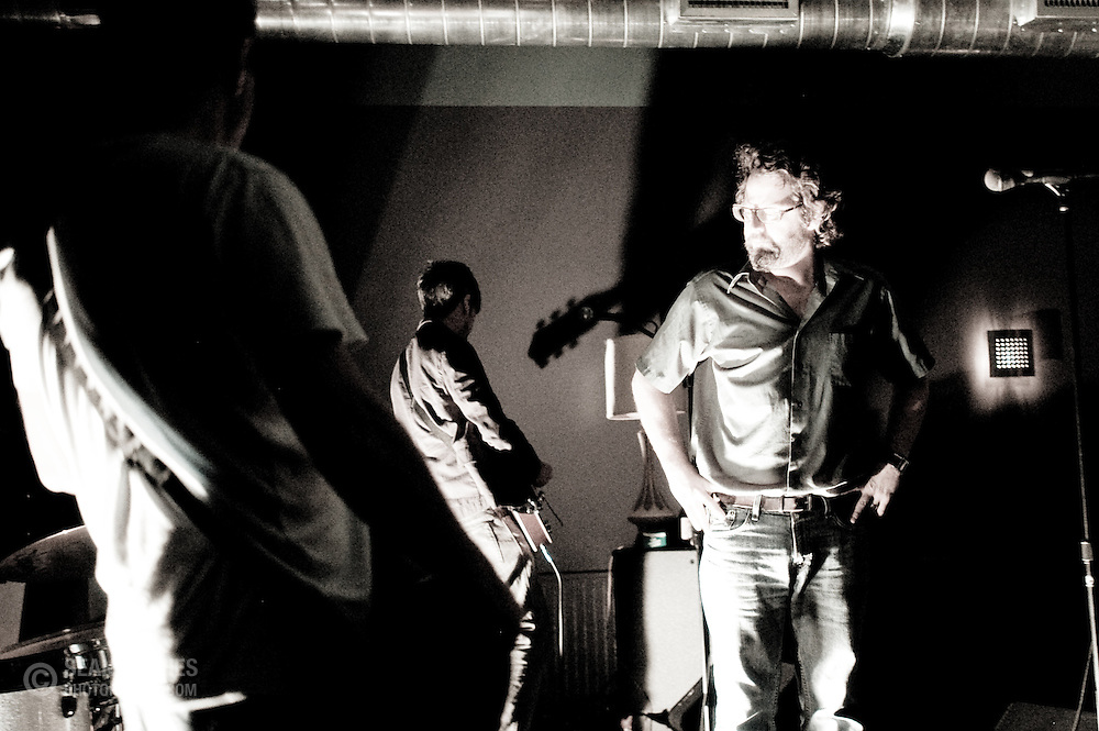 The Cincinnati-based band Roundhead perform at the Northside Tavern for their first show in over eight years. 2008.