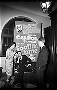 03/02/1964<br /> 02/03/1964<br /> 03 February 1964 <br /> Capitol Show Band and Pye Records reception for single 'Foolin' Time' at Country Club Portmarnock. Image shows (l-r): Joan Smyth; Butch Moore and Paddy Murray.