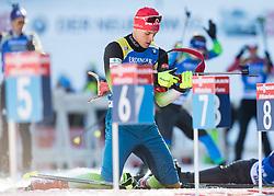 Rok Trsan (SLO) in action during the Men 10km Sprint at day 6 of IBU Biathlon World Cup 2018/19 Pokljuka, on December 7, 2018 in Rudno polje, Pokljuka, Pokljuka, Slovenia. Photo by Vid Ponikvar / Sportida