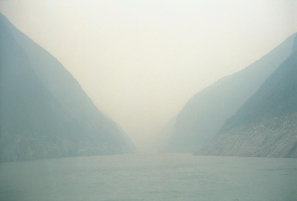 The Three Gorges. Yangtze River.