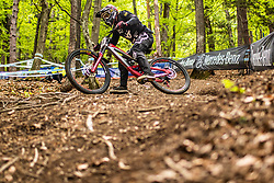 Johann Pothieter of South Africa during Mercedes-Benz UCI Mountain Bike World Cup competition final day in Bike Park Pohorje, Maribor on 28th of April, 2019, Slovenia.  . Photo by Grega Valancic / Sportida
