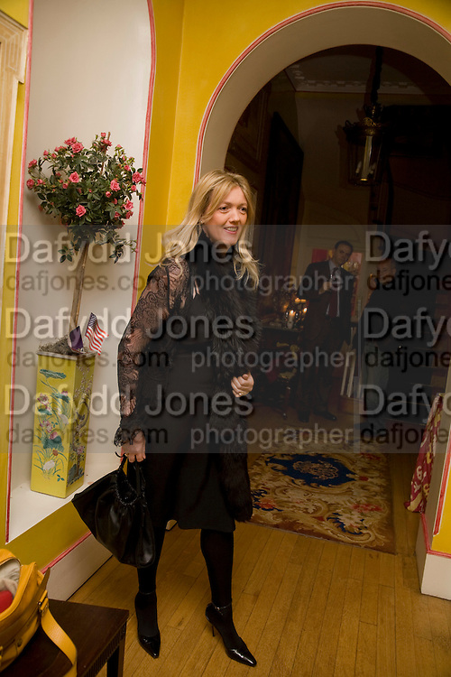 ANNABEL HESELTINE, Book launch for American's in Paris by Charles Glass hosted by Lady Annabel Lindsay. Holland Park. London. 25 March 2009 *** Local Caption *** -DO NOT ARCHIVE-© Copyright Photograph by Dafydd Jones. 248 Clapham Rd. London SW9 0PZ. Tel 0207 820 0771. www.dafjones.com.<br /> ANNABEL HESELTINE, Book launch for American's in Paris by Charles Glass hosted by Lady Annabel Lindsay. Holland Park. London. 25 March 2009