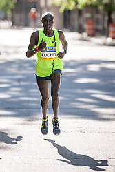 Boston Athletic Association 10K road race: Kevin Kochei, Kenya