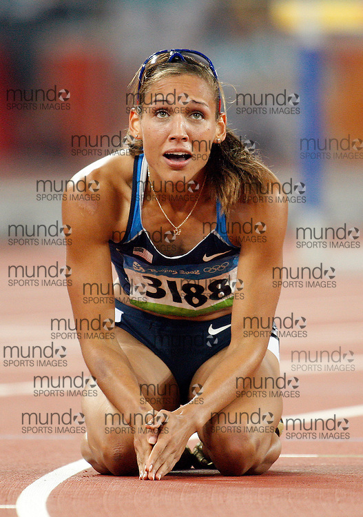 2008 Beijing Olympic Games- August 19th- Evening *** LoLo Jones -- 100m hurdles, USA *** Day 5 Evening
