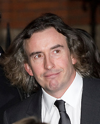 © London News Pictures. 22/11/2011. London, UK.  Comedian STEVE COOGAN leaving The Royal Courts of Justice today (22/11/2011) after giving evidence at the Leveson Inquiry into press standards. The inquiry is being lead by Lord Justice Leveson and is looking into the culture, and practice of the UK press. The Leveson inquiry, which may take a year or more to complete, comes after The News of The World Newspaper was closed following a phone hacking scandal. Photo credit : Ben Cawthra/LNP