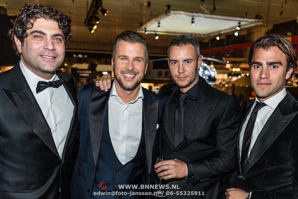 NLD/Amsterdam/20161208 - Vipnight 10de Masters of LXRY, Ralph Manheim, Winston Gerstanowitz, Guy van der Reijden en ......