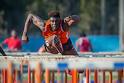 Savannah State University at a track meet, Wednesday, April 1, 2015, in Savannah, Ga.  (SSU Photo/Stephen B. Morton)