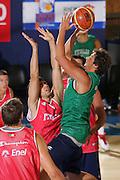 DESCRIZIONE : Bormio Ritiro Nazionale Italiana Maschile Preparazione Eurobasket 2007 Allenamento <br /> GIOCATORE : Marco Belinelli<br /> SQUADRA : Nazionale Italia Uomini EVENTO : Bormio Ritiro Nazionale Italiana Uomini Preparazione Eurobasket 2007 GARA :<br /> DATA : 24/07/2007 <br /> CATEGORIA : Allenamento <br /> SPORT : Pallacanestro <br /> AUTORE : Agenzia Ciamillo-Castoria/S.Silvestri <br /> Galleria : Fip Nazionali 2007 <br /> Fotonotizia : Bormio Ritiro Nazionale Italiana Maschile Preparazione Eurobasket 2007 Allenamento <br /> Predefinita :