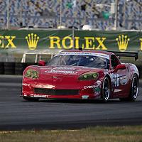 Team Michael Baughman Racing competing at the Rolex 24 at Daytona 2012