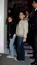 The daughters of Jade Jagger ASSESI and AMBER<br />