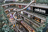 Slide In Shopping Mall