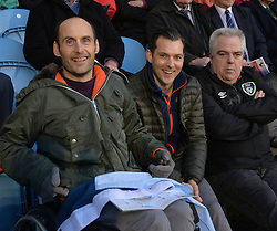 Covies Up for the Match&hellip;. Brian Langan, Tom Bourke and Ger Duffy enjoying the Intermediate county final on saturday night in McHale park.<br /> Pic Conor McKeown