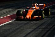 March 7-10, 2017: Circuit de Catalunya. Stoffel Vandoorne (BEL), McLaren Honda, MCL32