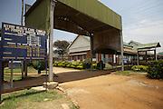 An external view of Kitovu Hospital, Uganda.