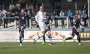 Peter MacDonald fires a shot wide of the target - Greenock Morton v Dundee, SPFL Championship at Cappielow<br /> <br />  - &copy; David Young - www.davidyoungphoto.co.uk - email: davidyoungphoto@gmail.com