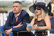 Racegoers at the York Dante Meeting at York Racecourse, York, United Kingdom on 18 May 2018. Picture by Mick Atkins.