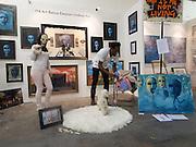 ELEANOR LINDSAY-FYNN, The Other Art Fair. Truman Brewery. Brick Lane, . London. 18 October 2013