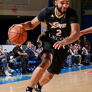 Erie BayHawks Guard AARON HARRISON (2) attempts to penetrate the lane in the first half of a NBA D-league regular season basketball game between the Delaware 87ers and the Erie BayHawks Tuesday, Mar. 29, 2016, at The Bob Carpenter Sports Convocation Center in Newark, DEL.