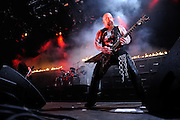 Slayer performing at Mayhem Fest on July 22, 2009 in St. Louis, MO.