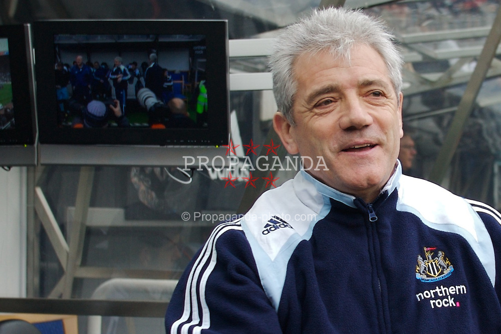 NEWCASTLE, ENGLAND - Sunday, February 3, 2008: Newcastle United's manager Kevin Keegan before the Premiership match against Middlesbrough at St James' Park. (Photo by David Rawcliffe/Propaganda)