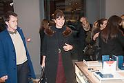 GIZZI ERSKINE, Smythson Sloane St. Store opening. London. 6 February 2012.