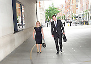 Andrew Marr Show arrivals <br /> at BBC Broadcasting House, London, Great Britain <br /> 17th July 2016 <br /> <br /> Justine Greening <br /> <br /> <br /> <br /> <br /> <br /> Photograph by Elliott Franks <br /> Image licensed to Elliott Franks Photography Services