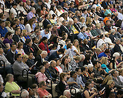 Thousands of friends and family members attend RIT's Convocation Ceremony in Rochester on Friday, May 22, 2015.