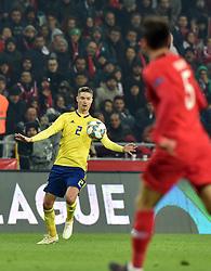November 17, 2018 - Konya, Türkiye - Sweden's Mikael Lustig  during Turkey vs. Sweden UEFA Nations League, League B game at Konya, Turkey, 17th Nov., 2018 (Credit Image: © Hikmet Saatci/Depo Photos via ZUMA Wire)