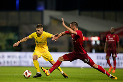 Aleksei Chernov of FC Ufa9 during 2nd Leg football match between NK Domzale and FC Ufa in 2nd Qualifying Round of UEFA Europa League 2018/19, on August 2, 2018 in Sports Park Domzale, Domzale, Slovenia. Photo by Urban Urbanc / Sportida