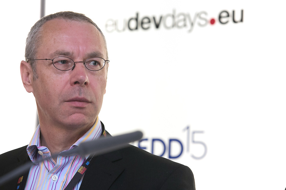 03 June 2015 - Belgium - Brussels - European Development Days - EDD - Growth - Ideas to impact-Innovation prizes for development - Simon Collings<br /> Energy Access Theme Leader , GVEP International &copy; European Union