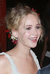 NEW YORK, NY - SEPTEMBER 13: Jennifer Lawrence at the New York Premiere of mother! at Radio City Music Hall on September 13, 2017 in New York City. 13 Sep 2017 Pictured: Jennifer Lawrence. Photo credit: MPI99/Capital Pictures / MEGA TheMegaAgency.com +1 888 505 6342