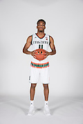 September 28, 2016: Bruce Brown #11 poses during  Miami Hurricanes Men's Basketball Photo Day in Coral Gables, Florida.
