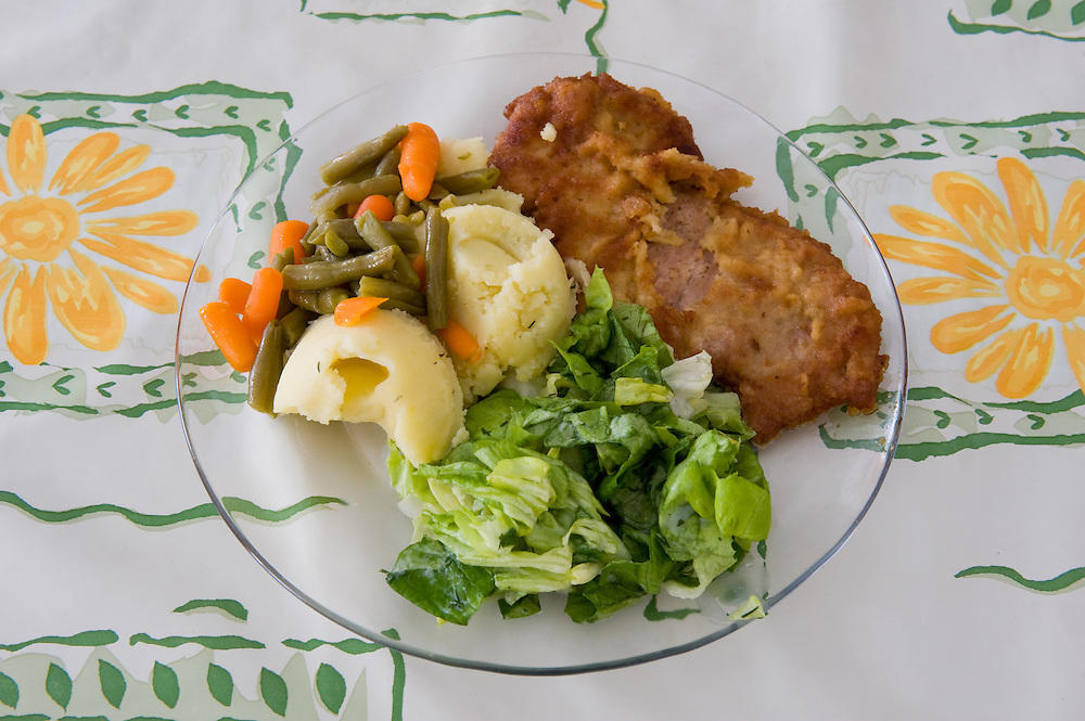Kotlet  Schabowy - Pork cutlet <br />