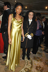 Actress NAOMI HARRIS and PHILIP SALON at the Chain of Hope Ball held at The Dorchester, Park Lane, London on 4th February 2008.<br />